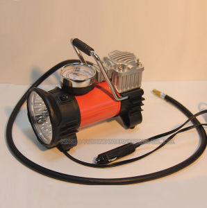 Multi-Use Air Compressor for Car with Lights pictures & photos
