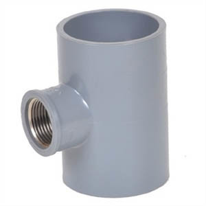 PVC Pipe Tee Fitting pictures & photos