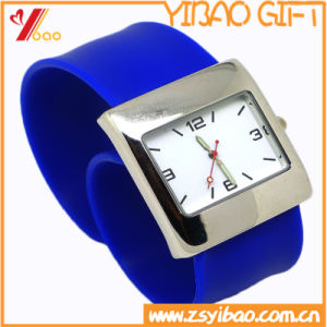 Cuatom Abrasion Resistance High Quality Silicone Sport Watch (XY-HR-76) pictures & photos