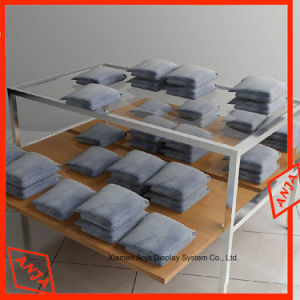 Wooden Garment Table Apparel Display Rack pictures & photos