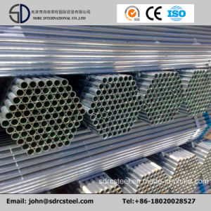 Manufacturer Q235 Hot DIP Galvanized Gi Steel Structure Pipes for Greenhouse pictures & photos