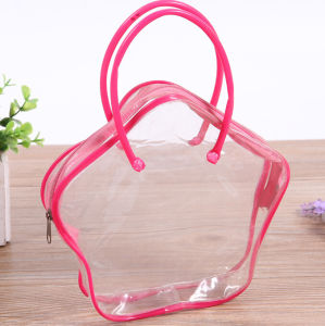 PVC Waterproof Zipper Cosmetic Bag Gift Bag pictures & photos
