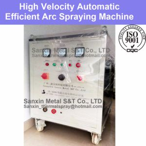 High Velocity Efficiency Wire Arc Spraying Machine Automatic Equipment Manufacturer Resulting Coating High Bond Strength Infrastructure Construction pictures & photos