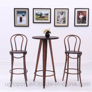 Wooden High Bar Table and Thonet Chair Sets (SP-BT708) pictures & photos