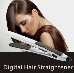 New Creative Bullet Mch Hair Straightener with Tourmaline Ceramic Coating Plates pictures & photos