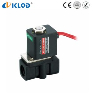 2p025-08 12V DC Mini Solenoid Valve Plastic Air Valve Solenoid pictures & photos