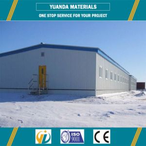 Steel Structure Workshop Prefabricated Warehouse Metallic Roof Structure pictures & photos