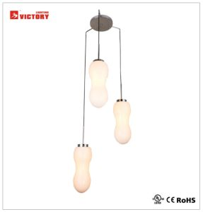 Modern Simple Glass Chandelier Decorative Hanging Pendant Lamp pictures & photos