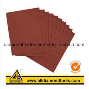 E-Wet/D-Wet Silicon Carbide Hook & Loop Sanding Sheet pictures & photos