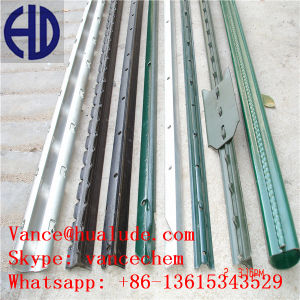 T Type Galvanized Fence Posts, Metal Fence Posts pictures & photos