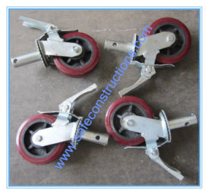 Safe Swivel Brake Scaffolding Wheel for Construction pictures & photos
