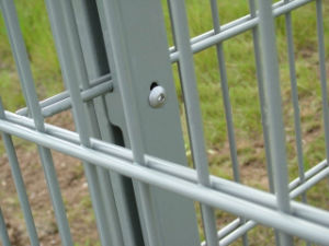 Double Wire Mesh Fence / PVC Coated Twin Wire 868 Fence pictures & photos