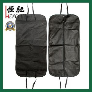 Factory Made Non Woven Garment Bag with Clear Window pictures & photos