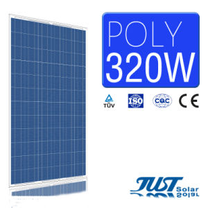 High Efficiency 320W Poly Solar Panel with Ce, CQC and TUV Certificates pictures & photos