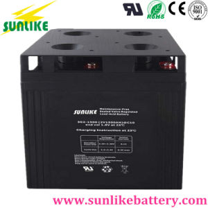 AGM Deep Cycle Lead Acid Battery 2V1500ah for Solar Storage pictures & photos