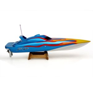 225bl046bp-Original Blast Wave 1300bp (Blue) Fs-Gt2 2.4G Transmitter High Speed 60km-H Electric RC Racing Boat pictures & photos