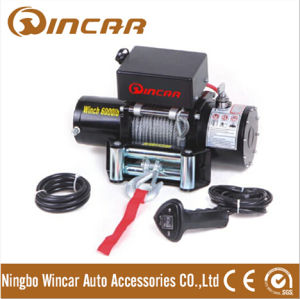 6000lbs 4X4 Electric Winch with 12 Volt Motor