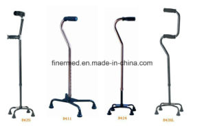 Heavy Duty Anodized Quad Walking Cane pictures & photos