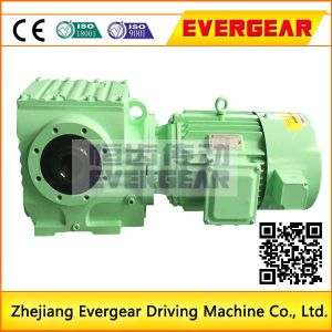 Saf Series Helical Worm Hollow Shaft Gearbox with Motor pictures & photos