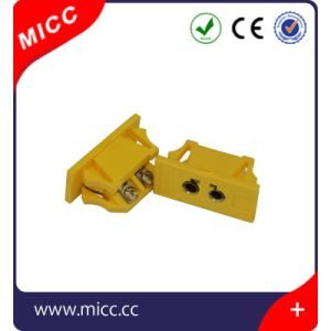 Panel Mounted Connector Female Type K Yellow pictures & photos