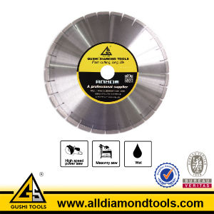 Sintered Diamond Saw Blade for Cutting Marble pictures & photos