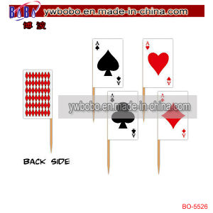 Halloween Carnival Party Decoration Playing Card Party Picks (BO-5526) pictures & photos
