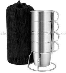 OEM Hot Sale Double Wall Stainless Steel Cup Mug Set pictures & photos