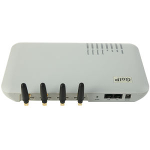 Four Channels GSM VoIP Gateway (GoIP4) pictures & photos