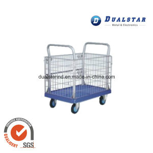 Warehouse Storage Folding Metal Security Roll Container