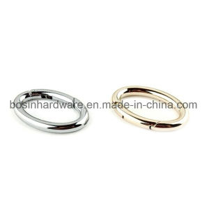 Oval Shaped Metal Spring Gate Ring Bag Accessories pictures & photos