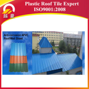 Color Lasting 10 Years PVC Roof Tile pictures & photos