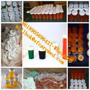 Blue Pharmacy Vials Plastic Vials Reversible Cap Child Resistant Cap OEM pictures & photos