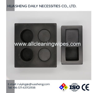 Compressed Towels Trays Black Resin Towel Holder pictures & photos