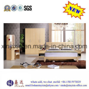 Wooden Bed Modern Apartment Hotel Bedroom Furniture (SH039#) pictures & photos