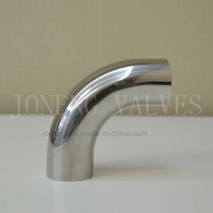 3A 90 Degree Hygienic Tube Bend 304/316L Stainless Steel Sanitary Fitting Polished pictures & photos