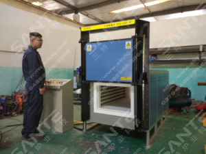 Industrial Equipment Lifting Door Box Furnace pictures & photos