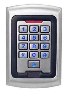 Hot Sale 13.56MHz Standalone Keypad Access Controller with Door Bell pictures & photos
