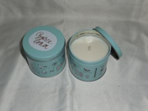 a Series of 6 Scented Tin Candle
