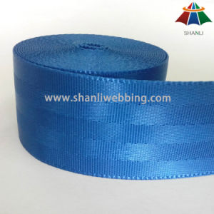 4.5cm Ocean Blue Nylon Seat Belt Webbing pictures & photos