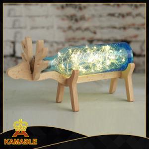 Decorative Wood Glass Table Lamp Modern (KADXT-8803) pictures & photos
