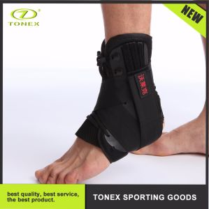 Breathable Neoprene Sports Double Elastic Adjustable Ankle Support pictures & photos