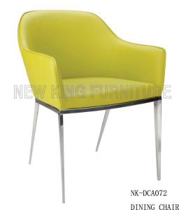 Hot Sale Cafe Chairs Dining Chairs Stainless Steel Chairs (NK-DCA072)