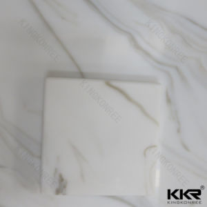 Kkr 12mm Marble Look Acrylic Solid Surface for Decorative pictures & photos