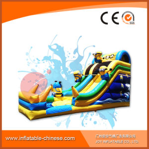 Minions Madness Inflatable Water Slide for Kids with Pool (T11-901) pictures & photos