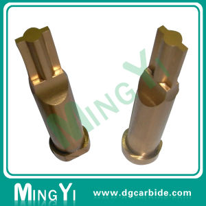Custom Hardened Tin Coating Straight Round Carbide Punch pictures & photos