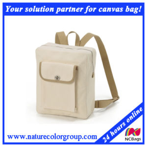 Canvas School Backpack Book Backpack for Student pictures & photos