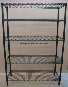 Hot Sale Metal Chrome Wire Flowers Shelf for  Indonesia pictures & photos