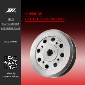 Ybr125 Clutch Hub & Clutch Press Plate for YAMAHA Motorcycles pictures & photos