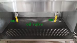 Popular Kitchen Equipment Stainless Steel Standing Gas Fryer pictures & photos