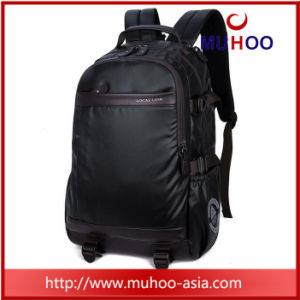 Black Waterproof Laptop Travel Hiking Backpack for Outdoor pictures & photos